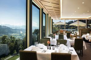 Wellness und Kulinarik geht im Bergkristall-Resort Hand in Hand.