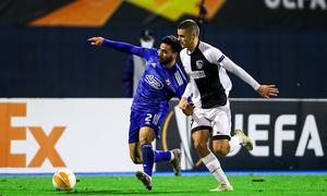 Dejan Joveljic gegen Dinamo Zagreb