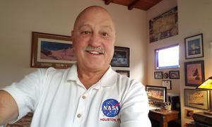 Jack Stuster in seinem Büro in Santa Barbara.