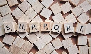 Unterstützung holen