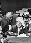 Brachte das Südtirol-Problem 1960 bei der UNO vor: der damalige österreichische Außenminister, Bruno Kreisky.