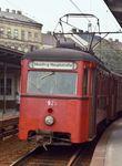 Stadtbahn. Es war ein regelrechtes Rumpeln, es war langsam und unkomfortabel. Die Stadtbahn war ein antiquiertes Relikt. Erst Ende der 1980er-Jahre kam der Umbau zur U-Bahn.