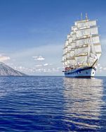 Reisen unter 42 Segeln: Die Royal Clipper kreuzt auch im westlichen Mittelmeer.
