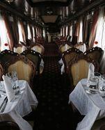 Essenszeit in der Transsibirischen Eisenbahn