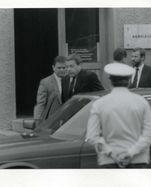 Kanzler Franz Vranitzky während seines DDR-Besuchs.