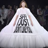 Paris Fashion Week Defile Huate Couture Printemps Ete 2019 Viktor & Rolf Couture Spring Summer