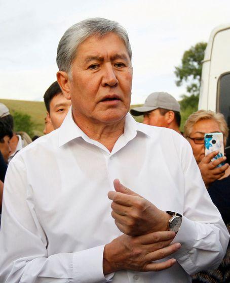 Der frühere kirgisische Präsident Almasbek Atambajew – hier noch in Freiheit – sitzt derzeit in Untersuchungshaft.