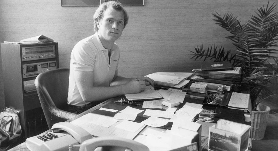 Uli Hoeneß: 1. Mai 1979, sein erster Arbeitstag als FCB-Manager.