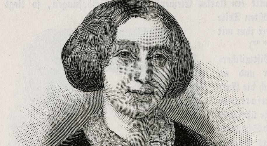Als Autorin sofort erfolgreich: George Eliot (1819 bis 1880).