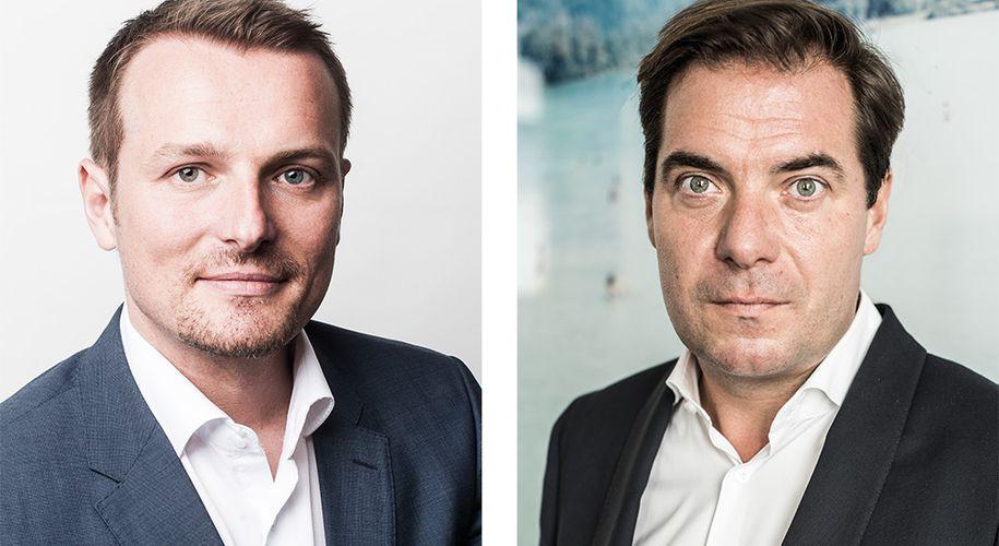 """Herwig Langanger (Vorstand der Geschäftsführung """"Die Presse"""") und Rainer Nowak (Chefredakteur, Herausgeber und Geschäftsführer """"Die Presse"""")"""