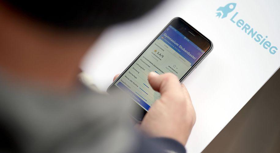"""Die App """"Lernsieg"""" sorgte für großes Aufsehen"""