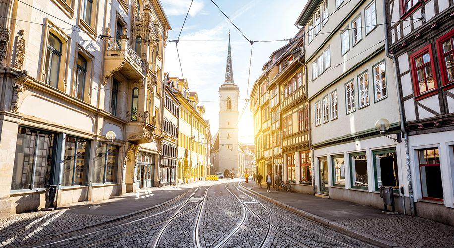 Deutsche Kleinstädte wie Erfurt rücken immer öfter ins Visier auch österreichischer Investoren.