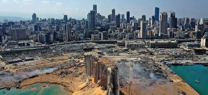 Der Hafen von Beirut und weite Teile der libanesischen Hauptstadt sind nach einer gewaltigen Detonation verwüstet.