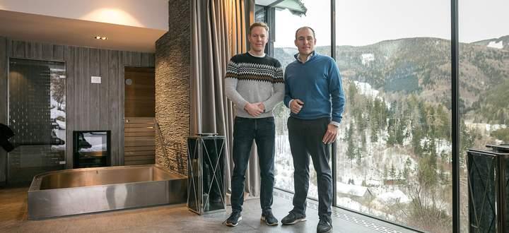 Andreas Wessely und Michael Niederer haben viele Visionen für den Semmering .
