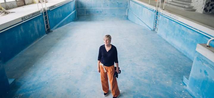 Yvonne Oswald fotografiert oft Gebäude – wie hier im Südbahnhotel. Jetzt fällt das flach.