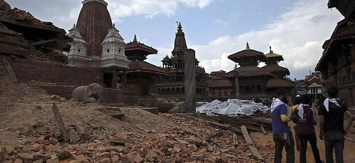 NEPAL EARTHQUAKE AFTERMATH