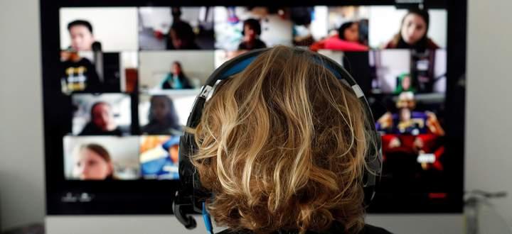 Zu viele Gesichter auf einem Bildschirm. Da macht das Gehirn nicht lange mit.