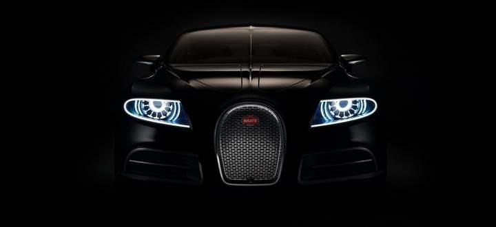 Ich schau dir in die Augen, Kleiner: Bugatti-Studie Galibier, 2011.