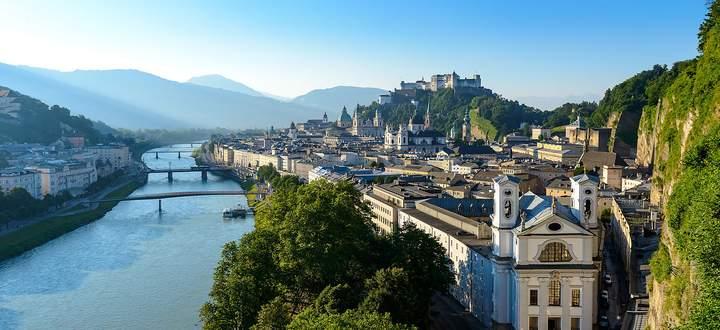 Schön, berühmt - und literarisch divers verarbeitet: Salzburg als Schauplatz und Sujet.