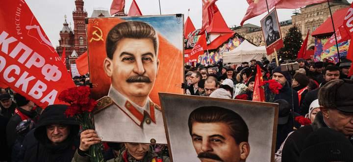 Zum 140. Geburtstag des Diktators versammelten sich am 21. Dezember am Roten Platz Hunderte Stalin-Anhänger.
