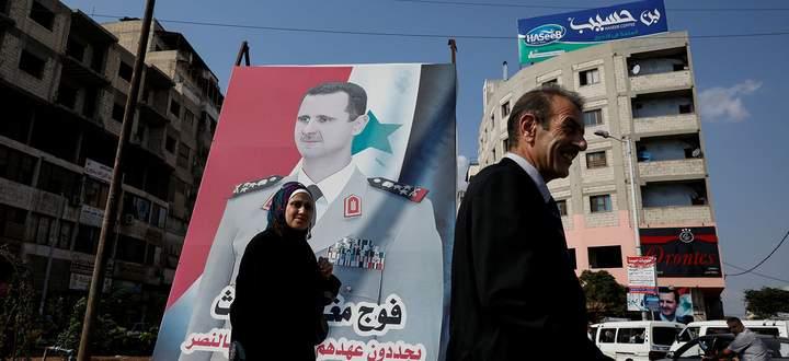 Assad herrscht heute etwa über zwei Drittel der Gesamtfläche Syriens (Archivbild).