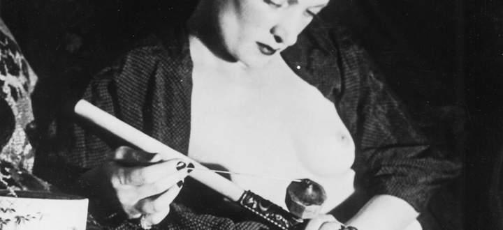 In Wien (wie in vielen Metropolen, im Bild eine Opiumraucherin in Paris) wurden Drogen zur Mode.