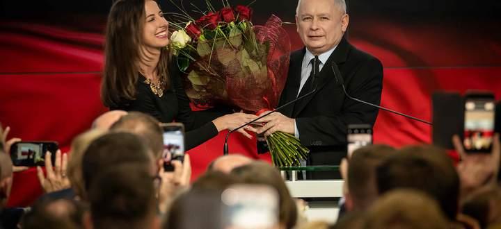 Jarosław Kaczyński war auch nach dem Wahltriumph seiner PiS-Regierungspartei nicht zufrieden.