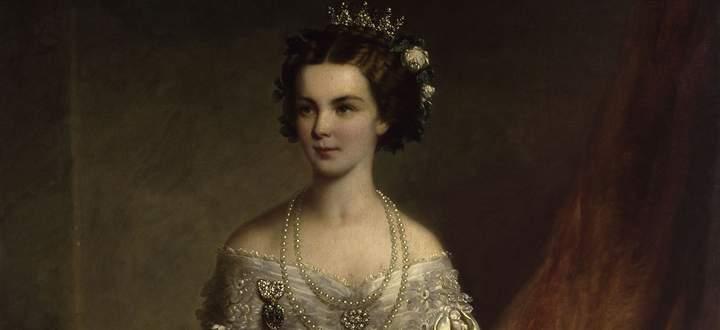 Das Gemälde zeigt die wittelsbachische Prinzessin Elisabeth im Jahr 1854.