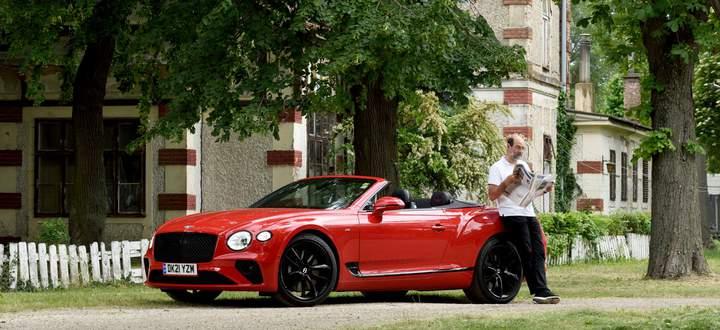 Elektrisch arbeitet hier nur das Verdeck: Der Bentley Continental GT Convertible wird von einem V8-Motor angetrieben.