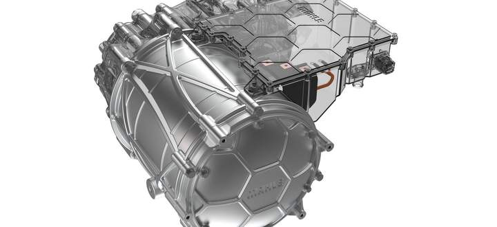 Kompakt, effizient, fast beliebig skalierbar – und wohl wenig anziehend für Benzinbrüder alter Schule: Magnetfreier E-Motor von Mahle.