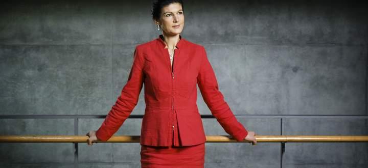 """Sahra Wagenknecht will die """"Heuchelei"""" in der Klimaschutzpolitik beenden."""