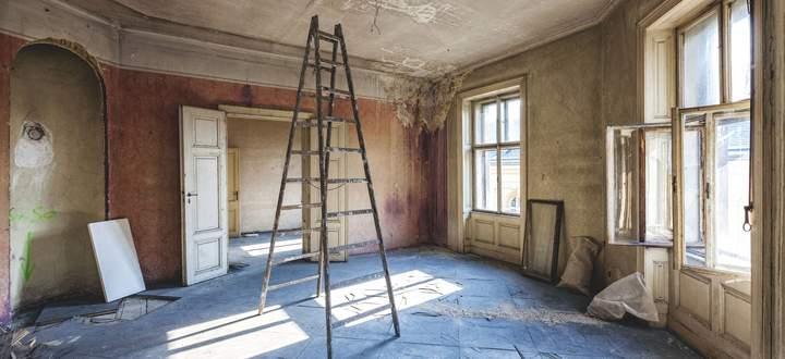 Umbauarbeiten, Herzfeldhaus