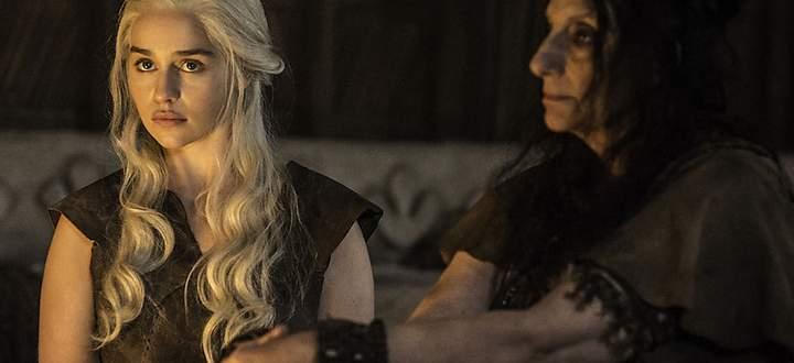 Daenerys kurz vor ihrem ''Trick''