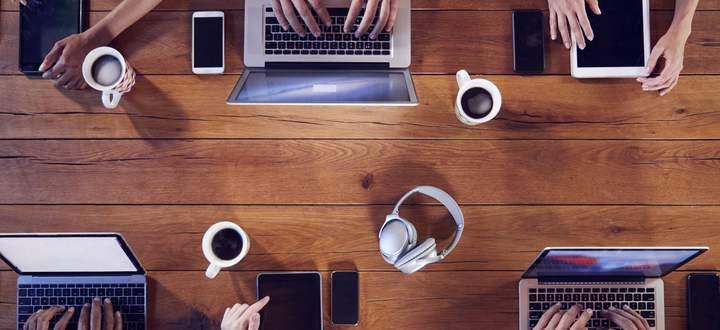 Für einen informellen Austausch können Kaffeepausen auch digital stattfinden.