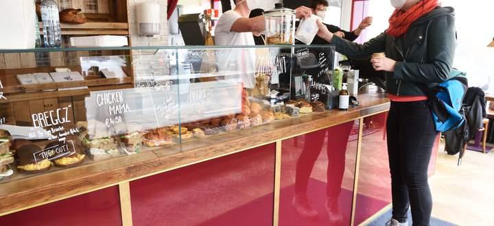 Neueröffnet – vorerst nur mit To-go-Angebot: die australische Bäckerei Punky's Whips im neunten Bezirk.
