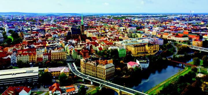 Bier und Autos: Die wirtschaftliche Basis für Tschechiens viertgrößte Stadt.