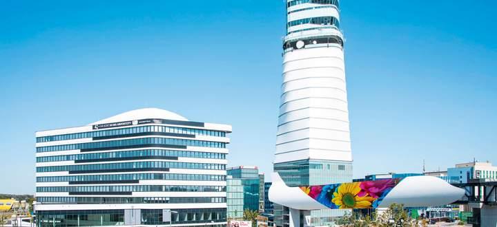 26.000 m² neue Büro- und Konferenzfläche: Der Vienna Office Park 4 in Wien-Schwechat wurde am 14. September 2020 eröffnet.