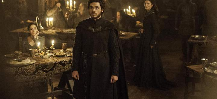 Game of Thrones Red Wedding Talisa, Robb und Catelyn Stark