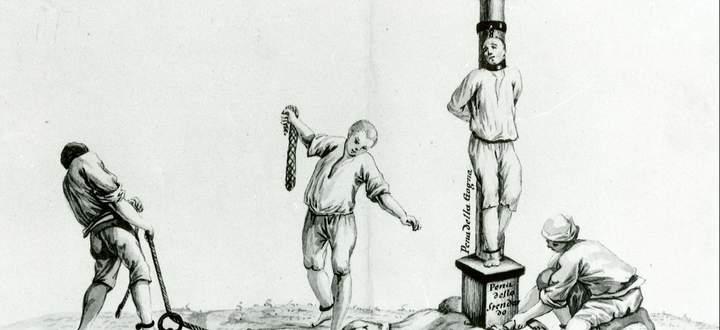 Sexual- und Ehedelikte wurden in den deutschen Territorien unterschiedlich geahndet, unter anderem mit der Prechlstellung, bei der Verurteilte mit einer hölzernen Hals- und Nackenfesselung am Pranger stehen mussten und anschließend ausgepeitscht wurden.