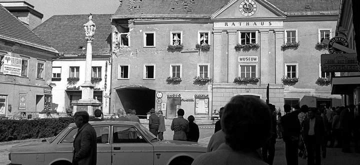 Bei der versuchten Sprengung des Völkermarkter Heimatmuseums am 18. September 1979 wurden drei Menschen verletzt – der Museumskustos und die beiden Bombenleger.