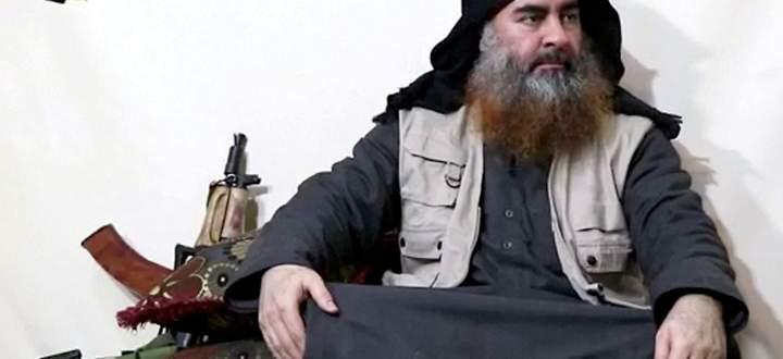 Von IS-Anführer Abu Bakr al-Baghdadi gibt es nur wenige Videoaufnahmen - dieser Screenshot stammt aus einem Video von Ende April 2019.