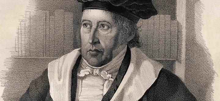 July 20, 2009: Georg Wilhelm Friedrich Hegel,1770-1831. German Philosopher.19Th Century Lithograph By Em. Baerentzen & C