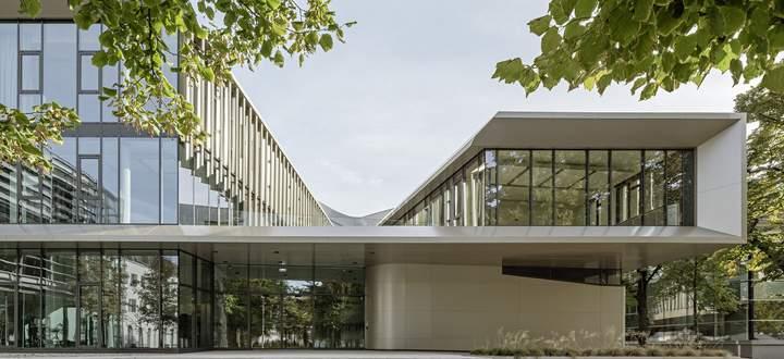 Das Future Art Lab wurde diesen Sommer als Herzstück des Campus der Uni für Musik und darstellende Kunst eröffnet.