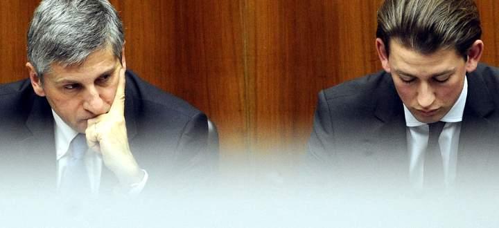 Michael Spindelegger und Sebastian Kurz