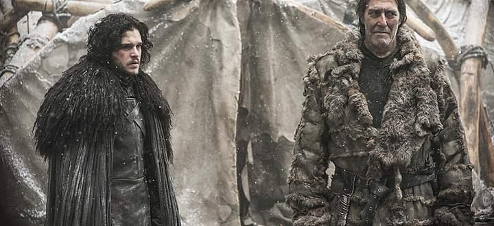 Jon Snow und Mance Rayder