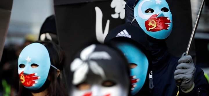 China bekennt sich dazu, keine Demokratie zu sein. Antiregierungsprotest in Hongkong.
