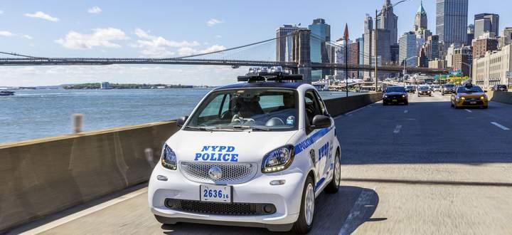 Aus den USA zog sich Smart 2019 zurück. Das NYPD kaufte 100 Stück.