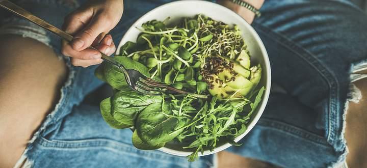 Eine rein pflanzliche Ernährung ist schwierig aufrechtzuerhalten – das Risiko einen Nährstoffmangel zu bekommen ist hoch.