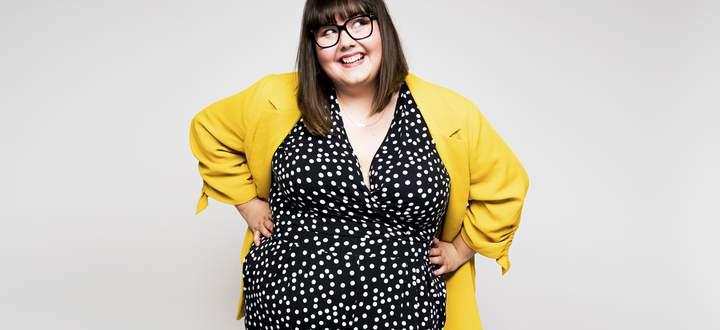"""""""Fett ist einfach nur fett"""", meint Autorin Sofie Hagen."""
