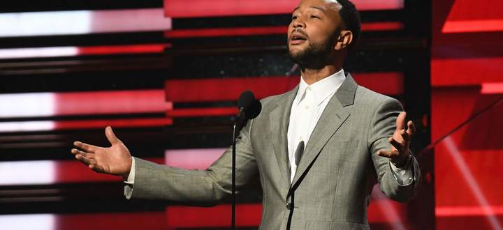 John Legend bei den Grammy Awards in Los Angeles